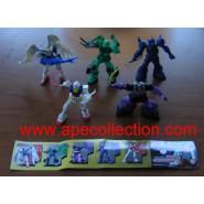RARO SET 5 Figure Modellini Robot GUNDAM Serie PART 5 BANDAI Gashapon