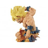 DRAGON BALL Z Figure Statue 16cm GOKU SS Match Makers Original BANPRESTO Japan Dragonball
