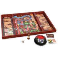 JUMANJI Board Game WOODEN Version ITALIAN LANGUAGE Original Spin Master
