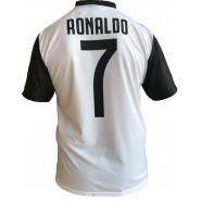 New CRISTIANO RONALDO CR7 Number 7 JUVENTUS 2018/2019 T-Shirt Jersey HOME Official Replica