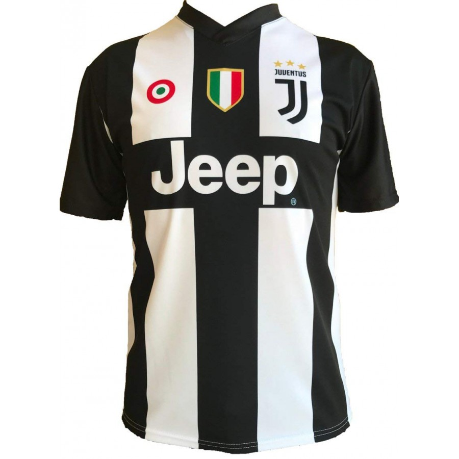 ... New CRISTIANO RONALDO CR7 Number 7 JUVENTUS 2018 2019 T-Shirt Jersey  HOME Official ... 56ad6f550