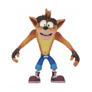 CRASH BANDICOOT Figura RESINA Action Figure 14cm e una cassa - Originale Ufficiale NECA