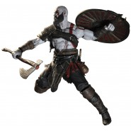 KRATOS Resin Action Figure 19cm (7.5'') From GOD OF WAR 2018 Original NECA