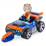 RUSTY RIVETS Playset Personaggio con Veicolo KART BUILD Originale SPIN MASTER