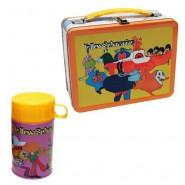 THE BEATLES Tin Metal LUNCH BOX With Thermos YELLOW SUBMARINE Original