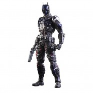 Action FIGURE 20cm BATMAN No. 3 From ARKHAM KNIGHT Play Arts KAI SQUARE ENIX Japan