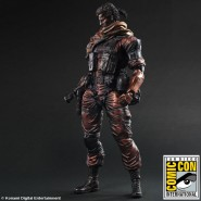 FIGURA Action 28cm PUNISHED SNAKE da METAL GEAR SOLID Play Arts KAI SQUARE ENIX Japan