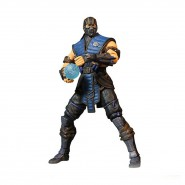 MORTAL KOMBAT X Action Figure SUB-ZERO 10cm Hand with ice ball Official MEZCO Toys NEW