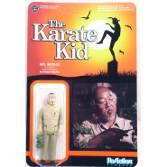 KARATE KID Figure Action Master Mr. MIYAGI With HEADBAMD - Very Very RARE 10cm (3 3/4 inches) FUNKO ReAction