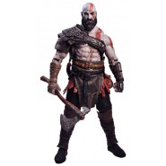 KRATOS Figura RESINA Action Figure GIGANTE Scala 1/4 45cm da GOD OF WAR 2018 Originale Ufficiale NECA