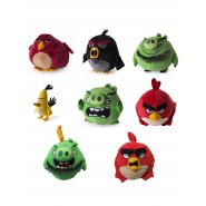 Plush ANGRY BIRDS 12cm Original OFFICIAL you Choose with Autenticity Tag