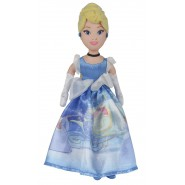 CINDERELLA Doll 25cm Princess Blue Dress Original Official DISNEY New