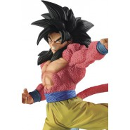 DRAGONBALL Figura Statua 21cm GOKU SON GOKOU SS4 Rosso Red FES 6 Banpresto