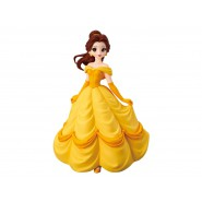 BEAUTY AND THE BEAST Figure Statue BELLE 16cm (7'') Serie CRYSTALUX Original Banpresto Japan