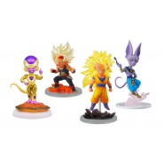COMPLETE SET 4 CHARACTERS UG Dragon Ball The Best 01 - Golden Freezer Frieza, Beerus, Bardock SS, Son Gokou SS3