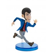 Figure LUPIN The Third 8cm - Lupin Running - Banpresto WORLD COLLECTIBLE FIGURES Series 1 WCF
