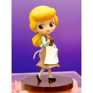 Statuetta Collezione CENERENTOLA Cinderella 7cm Disney Characters PETIT QPOSKET Banpresto