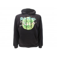 RICK AND MORTY Drowning Hooded Sweatshirt ADULT SWIM Official Sweater HOODIE