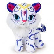 Peluche 16cm NAHAL Tigre Bianca da Shimmer and Shine Originale NICKELODEON Ufficiale