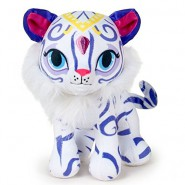 Plush of NAHAL White Tiger 16cm from Shimmer and Shine Original NICKELODEON Official