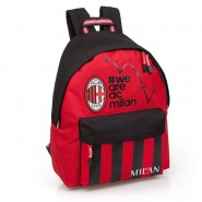 MILAN Zainetto ZAINO 43x33x25cm We Are AC Milan ORIGINALE Ufficiale