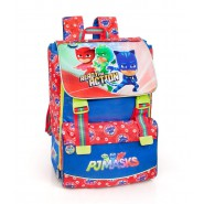 PJ MASKS Extensible Big School BACKPACK 40x28cm ORIGINAL Official
