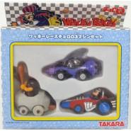 RARE Box 3 Car Models WACKY RACES Vehicles DICK DUSTARDLY MUTTLEY etc. TAKARA JAPAN