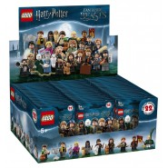 BOX COMPLETO 60 BUSTE Mini Figure HARRY POTTER e ANIMALI FANTASTICI Lego 71022 Minifigures