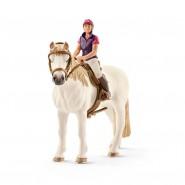Horse Club Recreational rider with horse 12cm (4.7'') 42359 Schleich