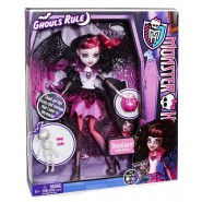 Monster High DRACULAURA Bambola Figura 27cm Mattel HALLOWEEN Ghouls Rule X3716