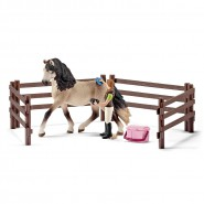 Horse Club Horse care set, Andalusian - Schleich 42270