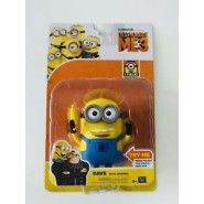 Minion DAVE With BANANA 12cm Figure TALKING From Despicable Me 3 MINIONS Original