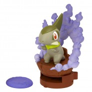 Figura Attacco AXEW 7cm POKEMON Black White ORIGINALE Jakks Pacific