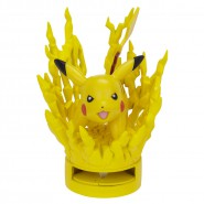 Figura Attacco PIKACHU ELECTRIC  7cm POKEMON Black White ORIGINALE Jakks Pacific