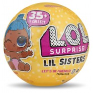 L.O.L. SURPRISE Sfera Pallina LITTLE SISTERS Sorelline SERIE 3 WAVE 2 Ufficiale ORIGINALE LOL