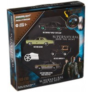 COLLECTOR SET 4 Modellini Auto SUPERNATURAL Join The Hunt Reel Serie 5 Scala 1:64 Limited GREENLIGHT COLLECTIBLES HOLLYWOOD