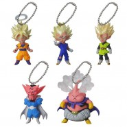 DRAGONBALL Set Completo 5 Mini FIGURE Collezione UDM Burst 06 DANGLER Bandai Gashapon Dragon Ball