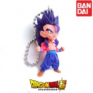 DRAGONBALL Mini Figure 4cm (2'') GOHAN SS 4 Collection UDM Best 17 DANGLER Bandai Gashapon Dragon Ball