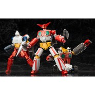 GETTER Robo ROBOT R - DYNAMIC CHANGE Set Box 3 Modelli GETTER 1 2 3 Originale GOOD SMILE Giappone