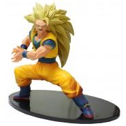 DRAGONBALL Figura Statua 16cm SON GOKU Super Saiyan SS3 Serie FES Volume 4 BANPRESTO Gokou