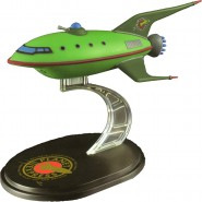 FUTURAMA Modellino Collezione PLANET EXPRESS SHIP Nave Planetaria 12cm ORIGINALE Quantum Mechanix