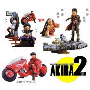 RARO Set 5 Figure Modellini AKIRA Part 2 Originali KAIYODO Japan Figures