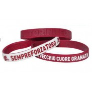SET 3 RUBBER BRACELETS Original TORINO FC Toro Granata Football Soccer CLUB Official