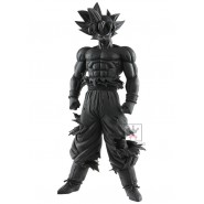 DRAGONBALL SUPER Figura Statua 28cm SON GOKU N. 3 Nero GRANDISTA Resolution Of Soldiers BANPRESTO