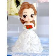 Figura Statuetta 14cm BELLE Bella e la Bestia Vestito Sposa Bianco QPOSKET Dreamy Style Banpresto DISNEY Versione B