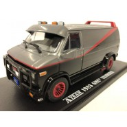 A-TEAM Modello 12cm DieCast Furgone GMC VANDURA 1983 Scala 1/43 ORIGINALE Greenlight