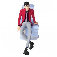 Figure Statue LUPIN THE THIRD 16cm (6.5'') RED JACKET Serie CREATOR X CREATOR Part 5 Original BANPRESTO Version B