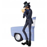 Figure Statue DAISUKE JIGEN 16cm (6.5'') BLUE SHIRT Serie CREATOR X CREATOR Part 5 Lupin Third Original BANPRESTO Version B