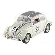 Car Model HERBIE GOES MONTECARLO Beetle VW DieCast 1/43 HOT WHEELS Elite BLY28