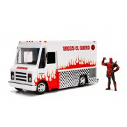 DieCast Model TACO TRUCK From Movie DEADPOOL With Figure Scale 1/24 Original JADA Toys